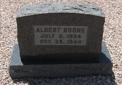 A photo of Albert Daniel Boone