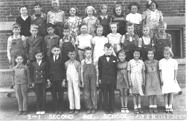 Second Ave. School 1938