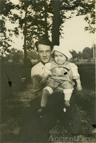 George and first son Jack
