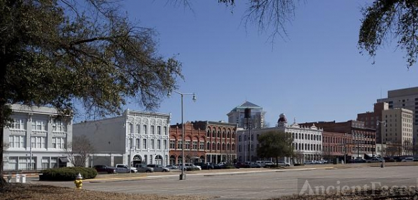 Historic buildings on Commerce Street, Montgomery, Alabama