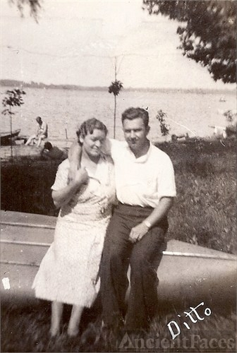 Bill & Mary Busch, MI c1940