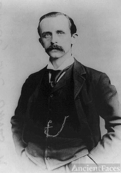 James M Barrie, author of Peter Pan