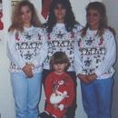 Becky, Pam, Jamie and Justin 1991