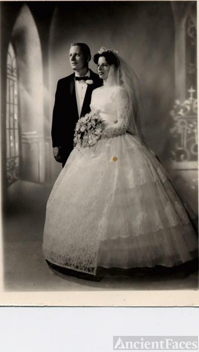 Eldridge-Graff Wedding-1960