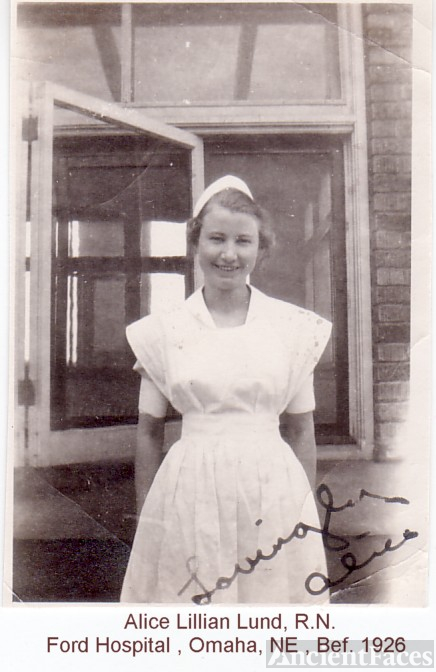 LUND, Alice Lillian, R.N.