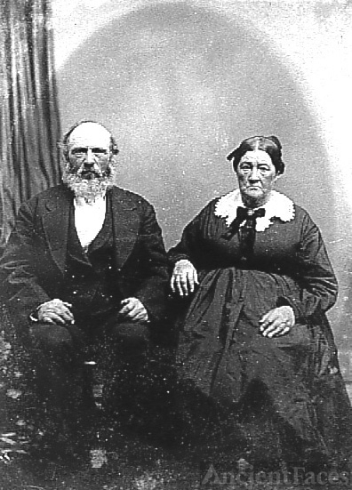 James & Elizabeth Symmonds, c1890 IL
