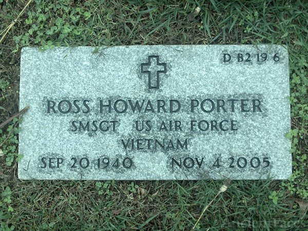 Ross Howard Porter gravesite