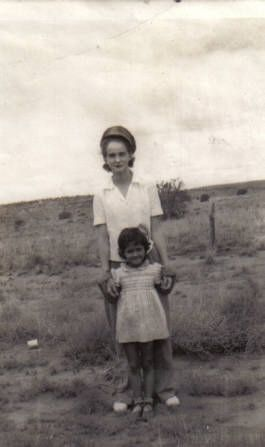 Unknown mother and child