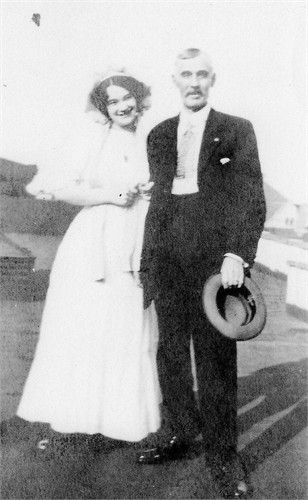 A photo of Rachel and Francis Patnaude