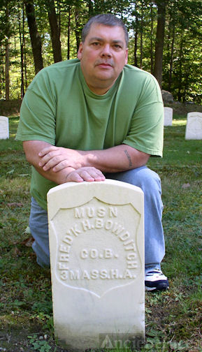 Civil War Grave of Third Great Grandfather