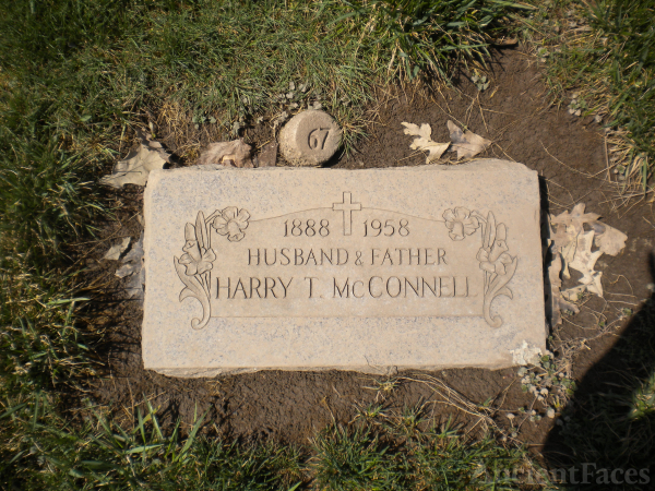 Harry T McConnell gravesite