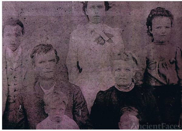 Abraham Lincoln Covington and family