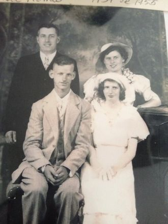 Clifton E Rogers & family