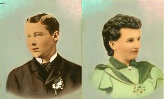 John & Dolly Tehan, Wisconsin 1893