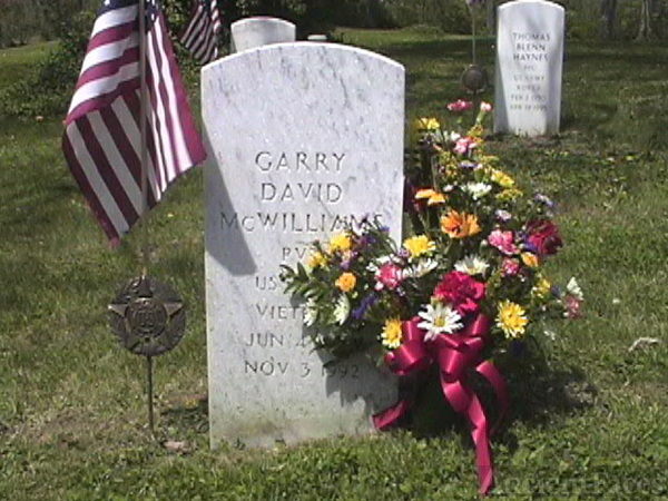 Garry D Mcwilliams gravesite