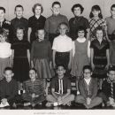 Garrison School, Gr4/5 class, 1962-63, named
