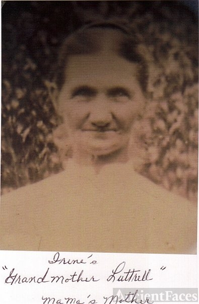 Unknown Luttrell woman, Tennessee