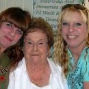 My twin sister Jennifer and I with our Grandmother Albertine