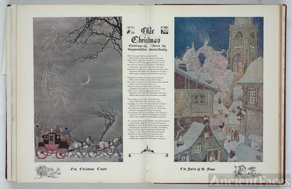 Olde Christmas / paintings by Raymond Ewer, verse by...