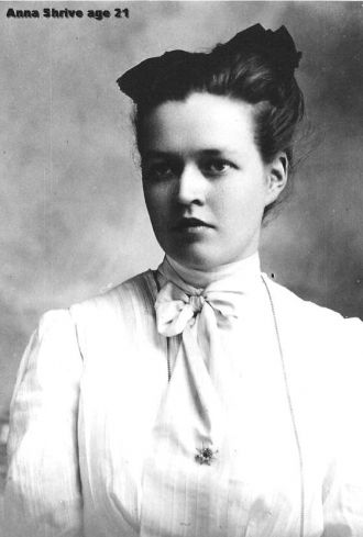 Anna Shrive, 1901 Illinois