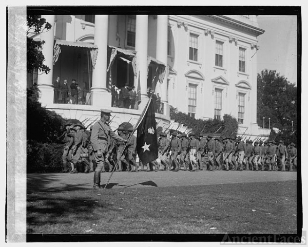 Marines at White House, 10/5/23