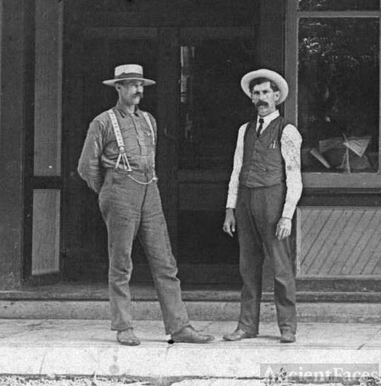 Two unknown men, Indiana