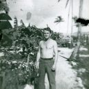 Howard L. Alexander, Sr. in Guam in 1944 or 45