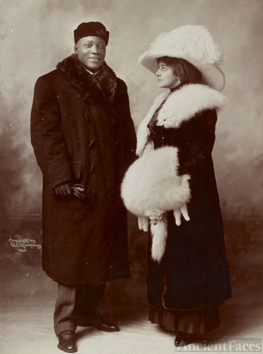 Jack and Etta Johnson 1910