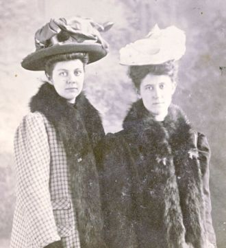 Alta Melick Trowbridge and Maggie Williams Morrison