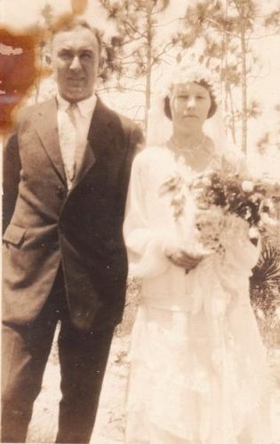 Wedding of Agnes Gill and William Young