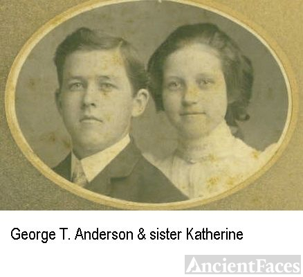 George T and sister Katherine
