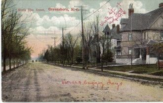 Homes of Unknown Families in Greensboro, NC