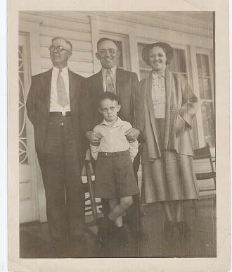 William, Lloyd, Florence & Ed RICHEY