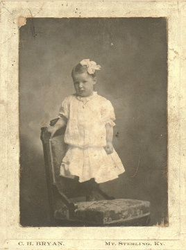 A photo of Nannie Carrison Warders