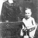 Lula (McCracken) and son, Versell Tuttle