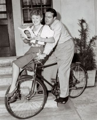 Bob Hope and Phyllis Ruth 1943