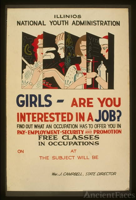 Girls - are you interested in a job? Find out what an...