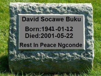 A photo of David Socawe Buku