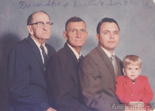 4 Generations of Sharp Men