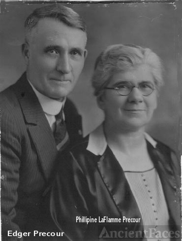 Grandfather and Grandmother Precour