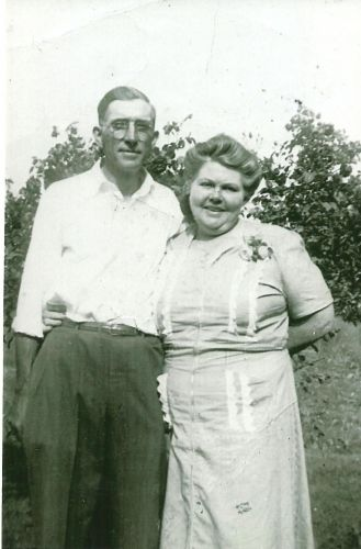 Herbert and Alta (Lindsey) Vertrees, Indiana 1950
