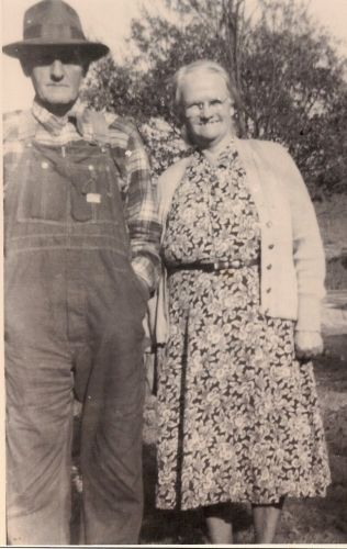 William  & Lilly Mae Tripplet, TN 1920's