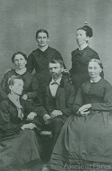 George Getter, wife and sisters
