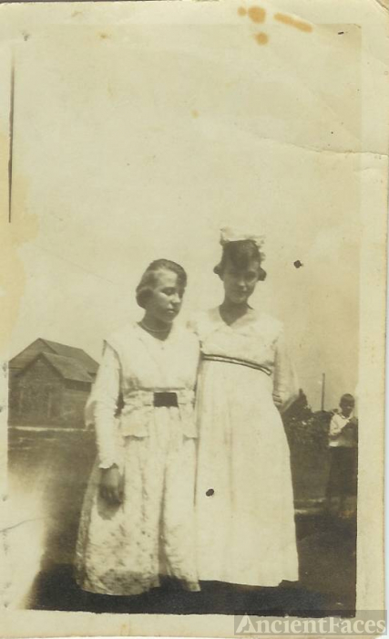 Fannie Isley and Ethel Stadler
