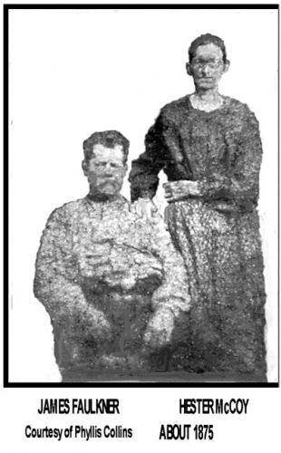 James & Hester (McCoy) Faulkner