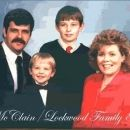 Forest & Deborah (Lockwood) McClain family, 1987