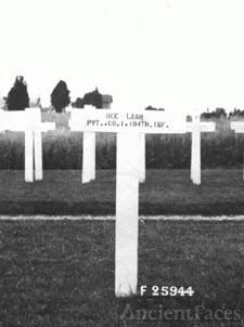 Cross of Pvt. Dee Lash