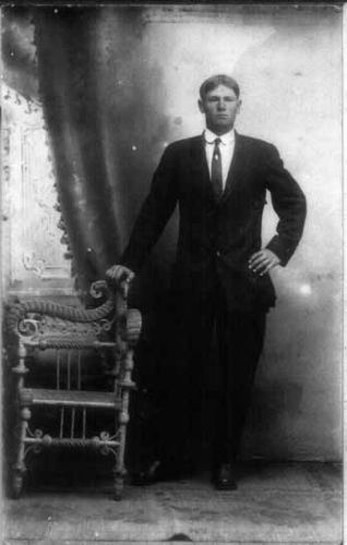 Studio Portrait of Calvin Patterson