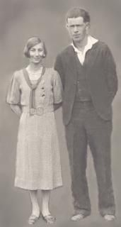 A photo of Verna & Walter Heckford