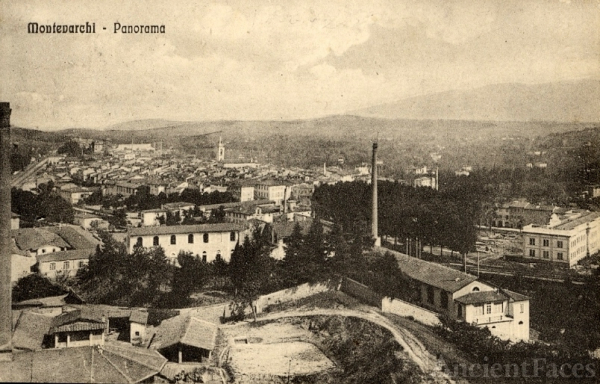 Postcard of Montevarchi